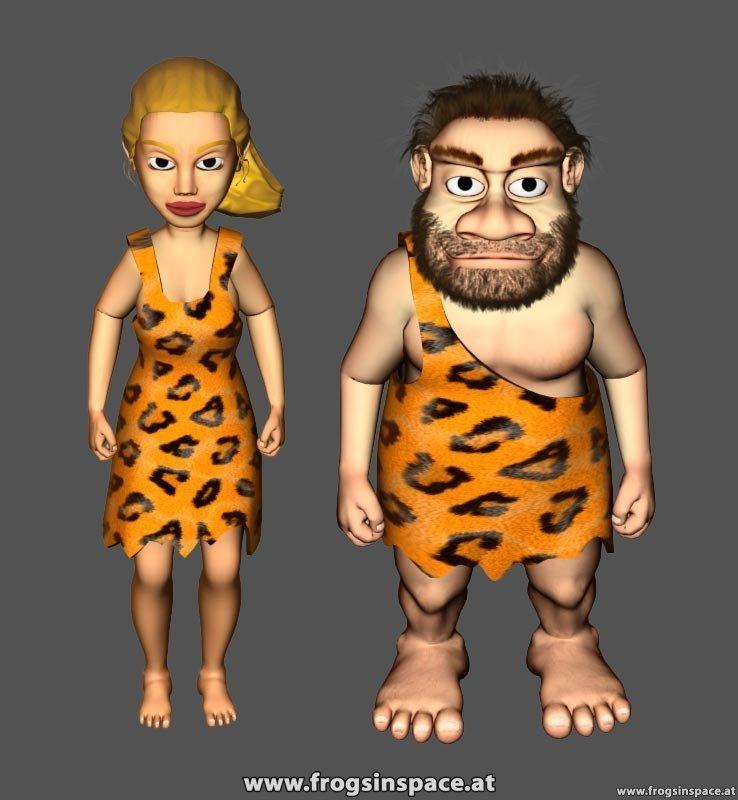 caveman&cavegirl