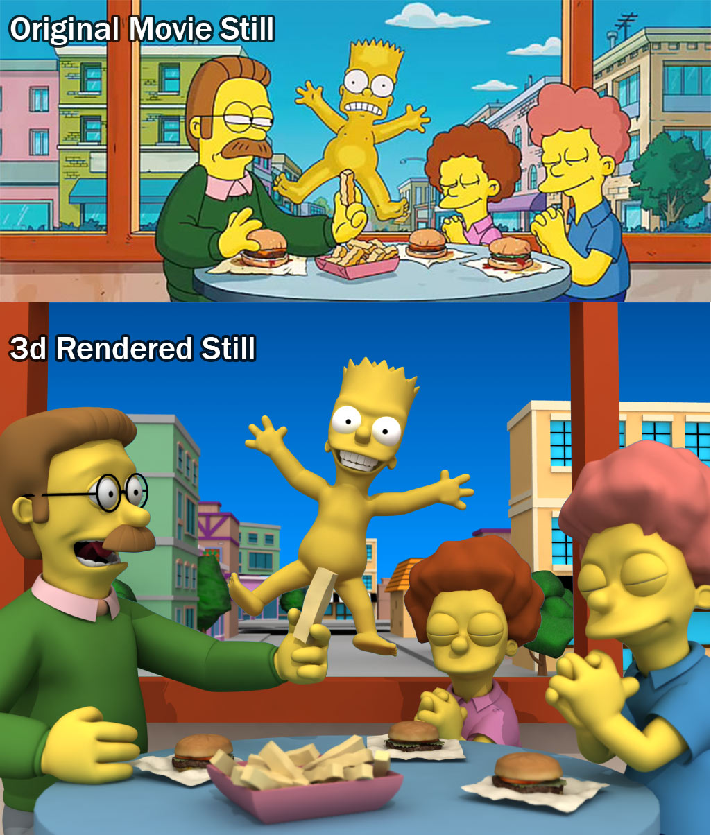 Simpson_NakedBart_Flying3d