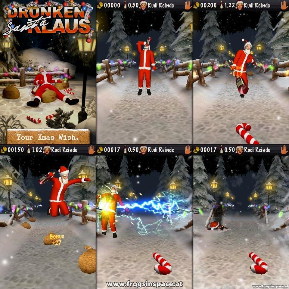Drunken Santa: Ingame screenshots
