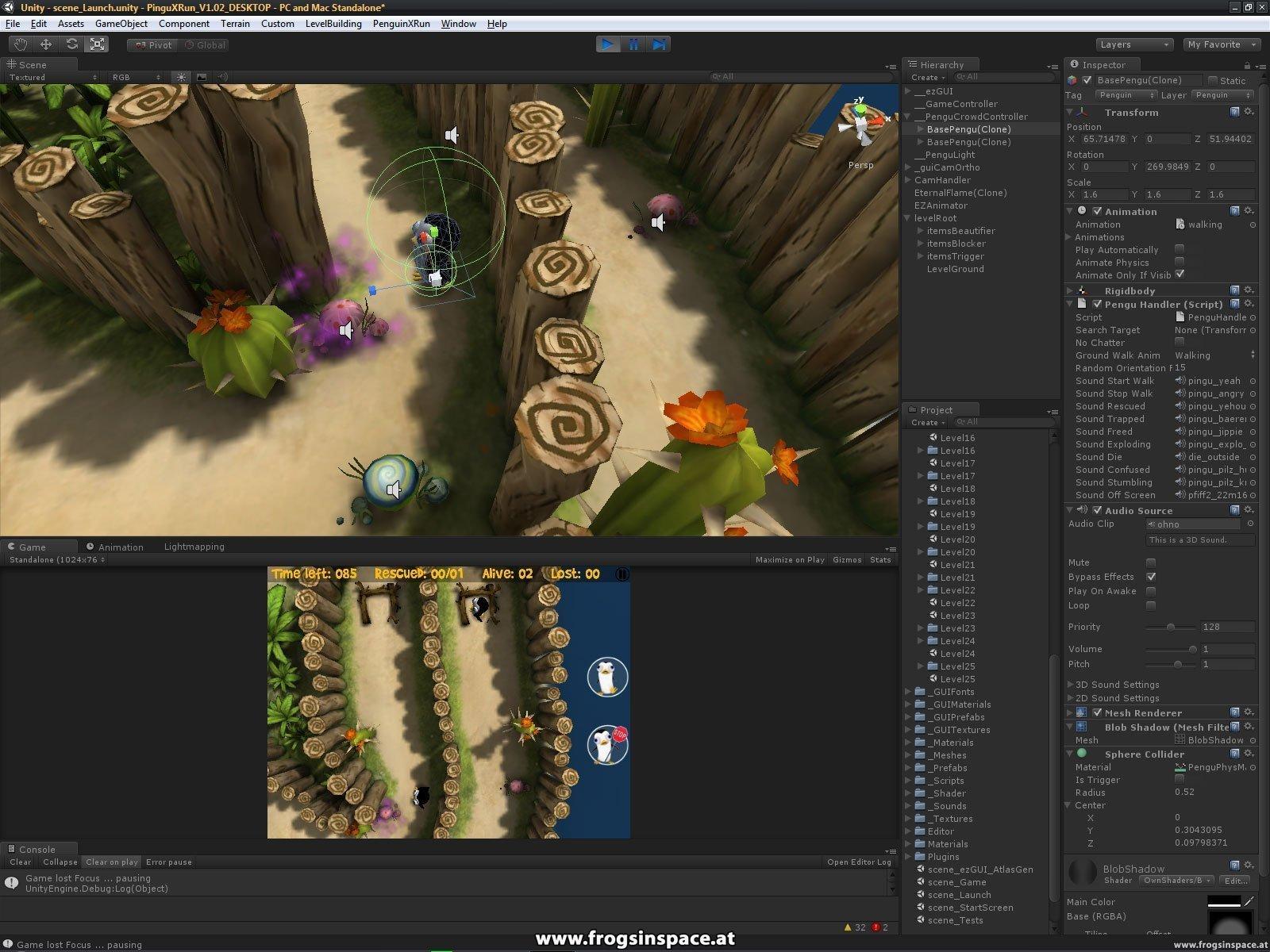 Unity Editor: Level loaded