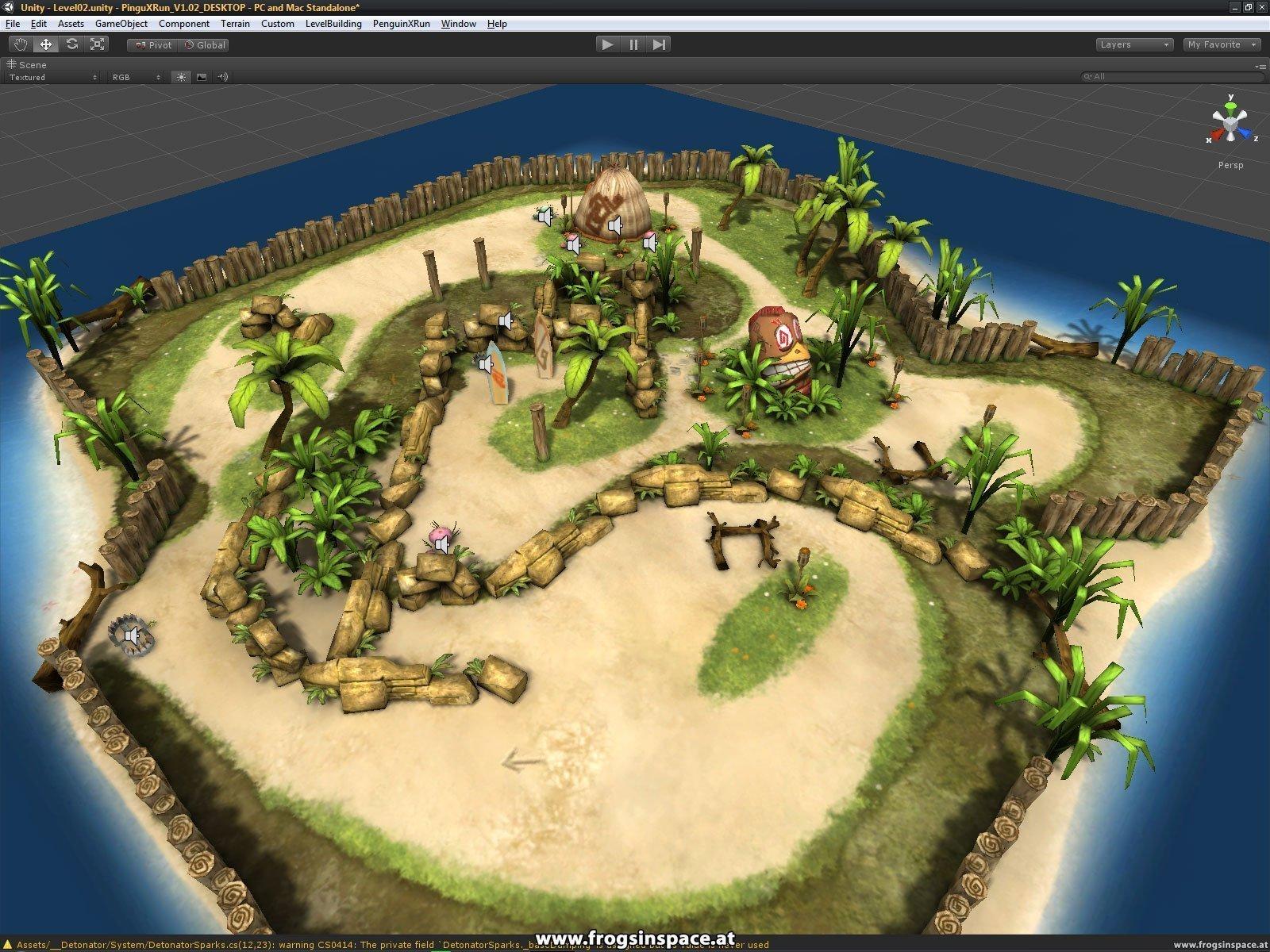 Unity Editor: Level display