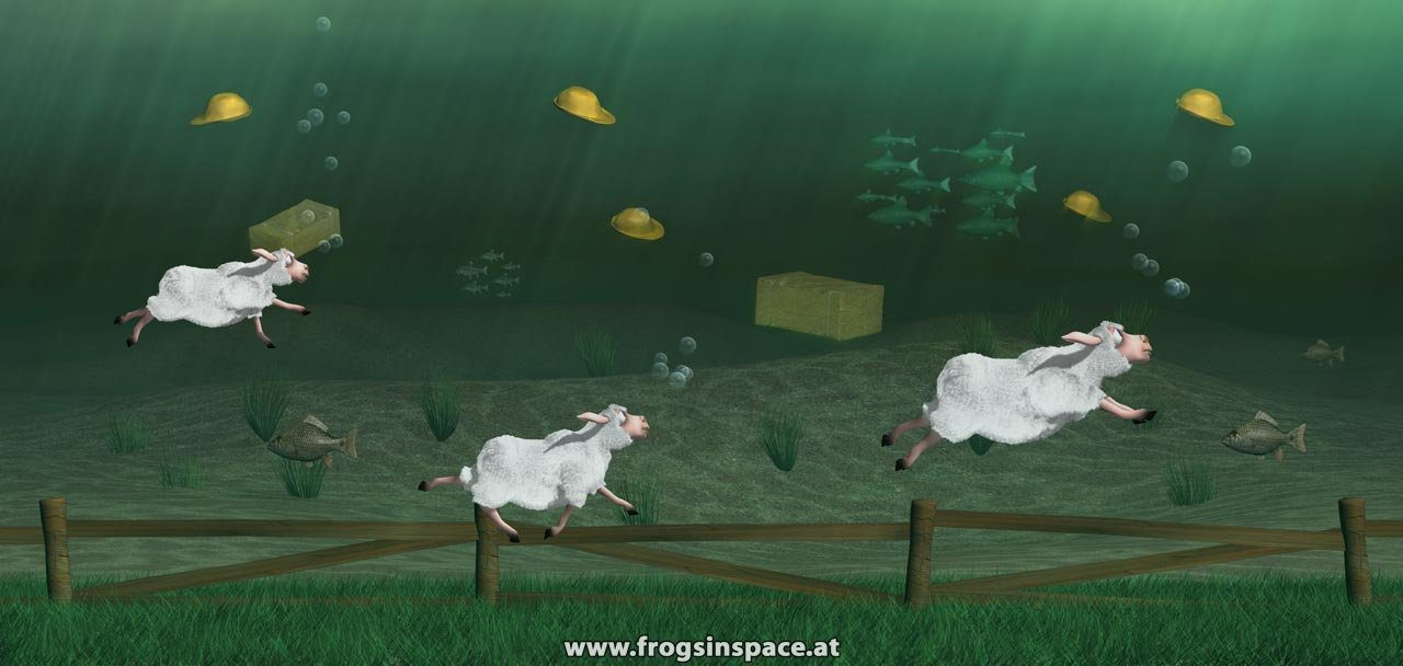 sheep_underwater